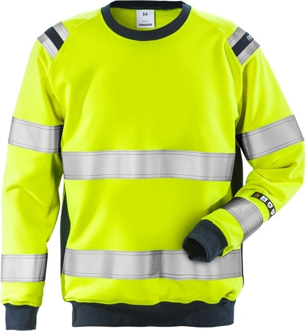 Flamestat high vis sweatshirt cl 3 7076 SFLH