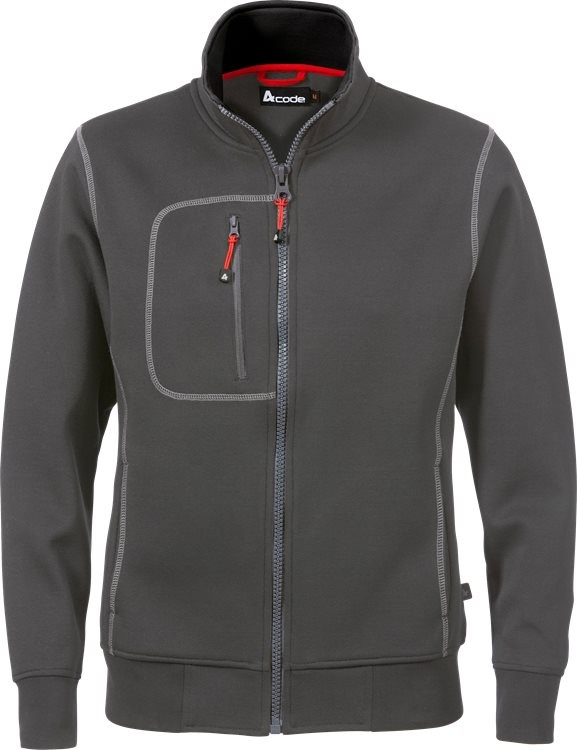 Acode sweat jacket woman 1748 DF