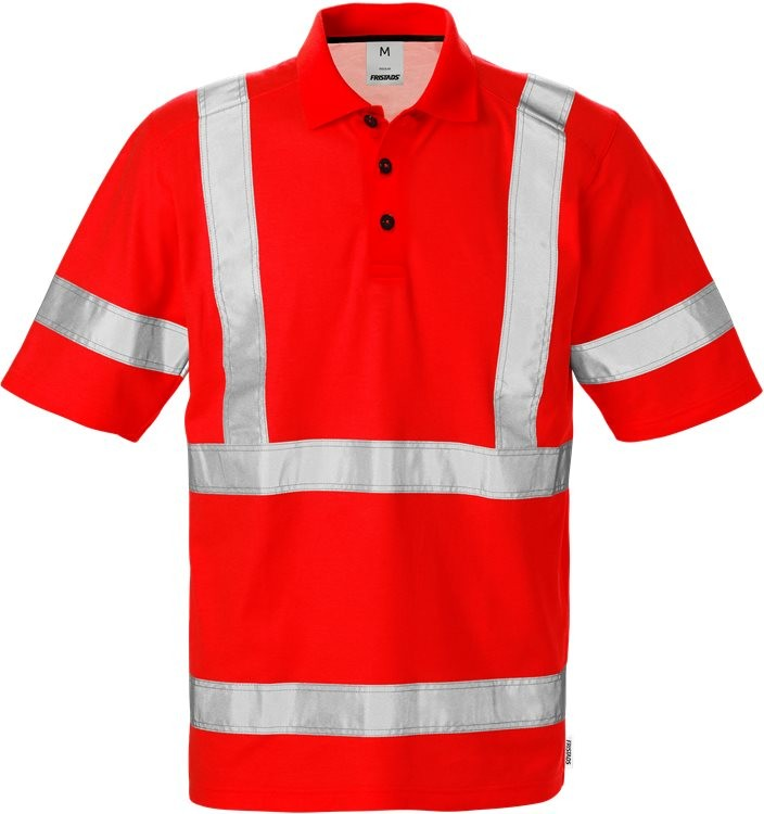 High vis polo shirt cl 3 7025 TPR