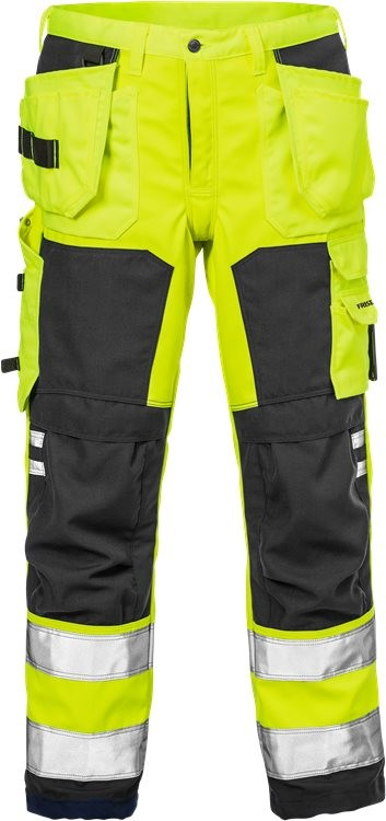 High vis craftsman soft shell trousers cl 2 2083 WYH