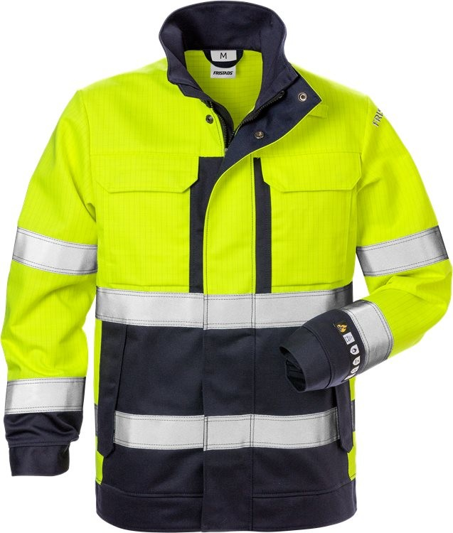Flame high vis jacket woman cl 3 4590 FLAM