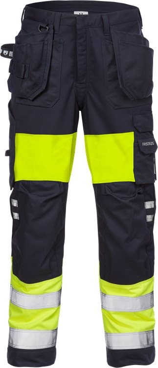 Flamestat high vis craftsman trousers woman cl 1 2777 ATHS