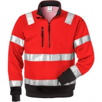 High vis halfzip sweatshirt cl 3 728 BPV