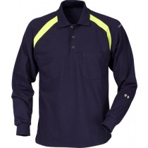 Flamestat long sleeve polo shirt 784 PFLA