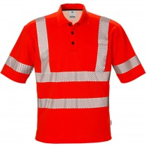 High vis polo shirt cl 3 7406 TPS