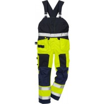 Flamestat high vis bib'n'brace cl 2 1075 ATHS