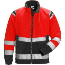 High vis fleece jacket cl 3 4041 FE