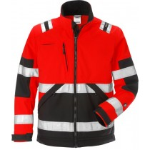 High vis soft shell jacket cl 2 4083 WYH