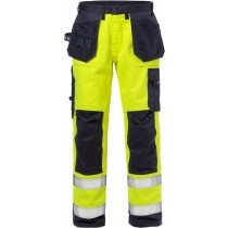 Flame high vis craftsman trousers cl 2 2584 FLAM