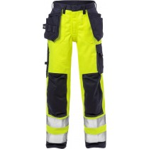 Flame high vis craftsman trousers woman cl 2 2589 FLAM