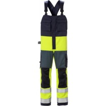 Flame high vis bib'n'brace cl 2 1584 FLAM