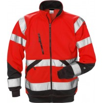 High vis sweat jacket cl 3 7426 SHV