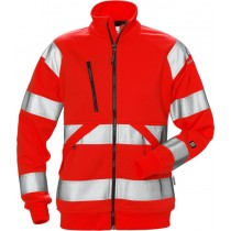 High vis sweat jacket woman cl 3 7427 SHV