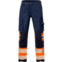 High vis stretch trousers woman cl 1 2708 PLU